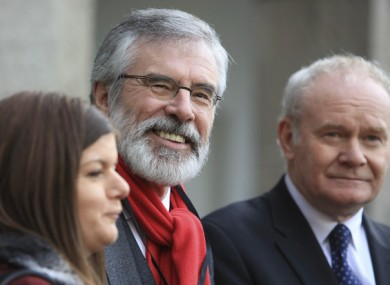 Sinn Féin is now the second most popular party in the country.