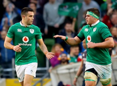 Conor Murray and CJ Stander have been rewarded for their Ireland performances.
