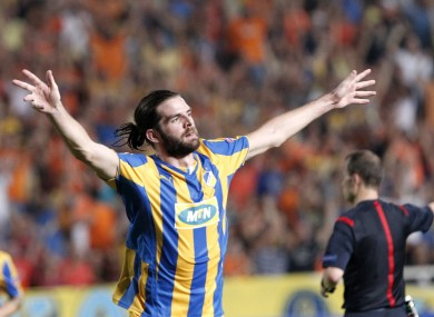 Cillian Sheridan has thrived since moving abroad.