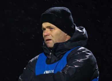 Dublin U21 manager Dessie Farrell.