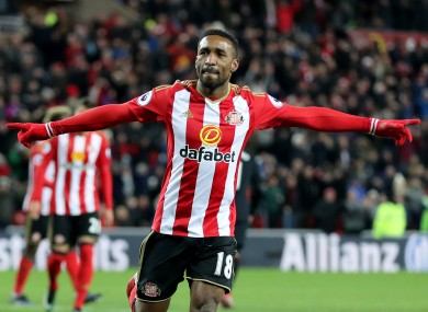 Sunderland's Jermain Defoe (file photo).