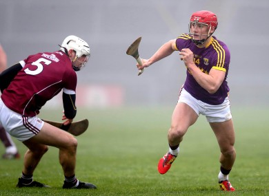 Chin in action against Galway.