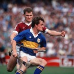 All-Ireland title wins in 1987 and 1988 with Galway along with five All-Stars were the highlights of Finnerty's career.<span class=
