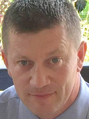 Undated photo of PC Keith Palmer who was killed during the terrorist attack on the Houses of Parliament in London yesterday.