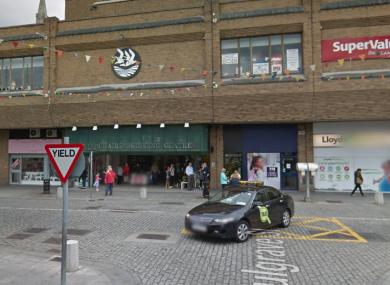 Dun Laoghaire Shopping Centre.