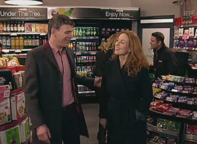 Product placement in RTÉ show Fair City