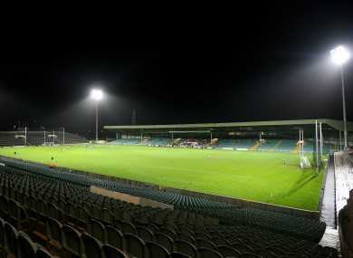 Gaelic Grounds hosted last night's game.