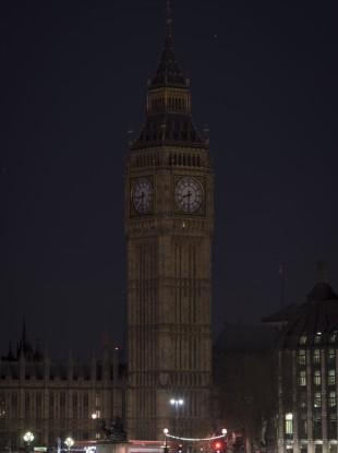 Big Ben going dark for Earth Hour