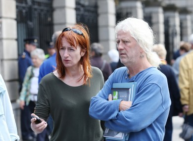 Independent TDs Mick Wallace and Clare Daly.