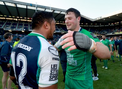 Aki and Henshaw were central to Connacht's Pro12 victory last year.