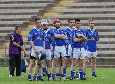The Cavan hurlers back in 2008.