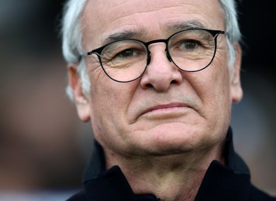 Claudio Ranieri was sacked by Leicester just months after guiding them to the Premier League title.