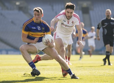 Conor Sweeney hit 2-5 for Tipperary against Louth yesterday.