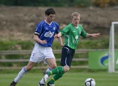 Daryl Horgan pictured during his younger days with Salthill Devon.