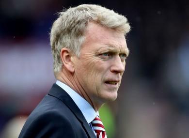 Sunderland boss David Moyes.