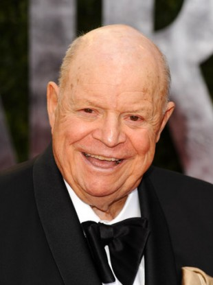 Rickles at the 2010 Vanity Fair Oscar party