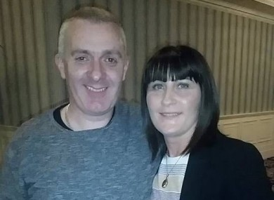 Alister donated a kidney to his wife Fiona.