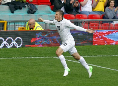Leeds United striker Chris Wood is one of New Zealand's top players.