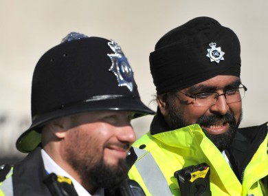 Police in other jurisdictions are permitted to wear a beard on duty.