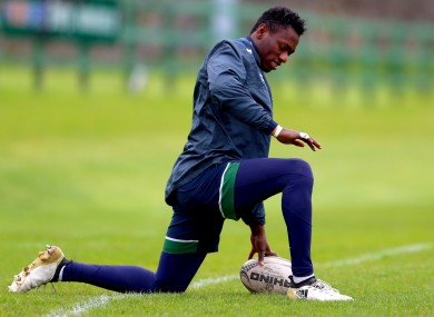 Niyi Adeolokun is a key player for Connacht.