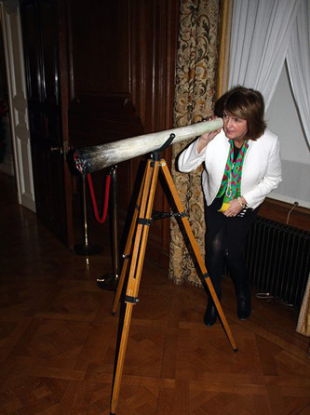 Joan Burton accidentally posed with a giant spliff back in December 2014