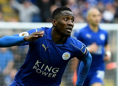 Wilfred Ndidi has impressed for Leicester this season.