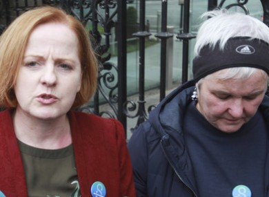 Ruth Coppinger and Brid Smith of Solidarity-PBP.