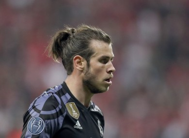 Real Madrid's Gareth Bale.