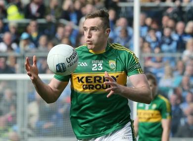 Kerry's Brendan O'Sullivan.