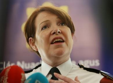 Garda Commissioner Noírín O'Sullivan.