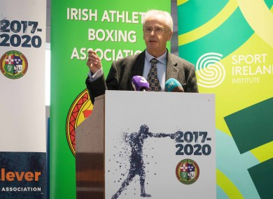 CEO Sport Ireland John Treacy (file pic).