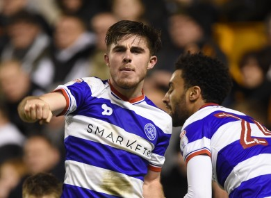 Manning has appeared 18 times for QPR this season.