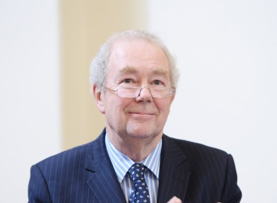 Former President the High Court of Ireland Nicholas Kearns