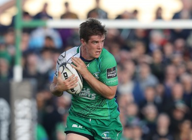 The former Connacht out-half starts for the Eagles on Saturday.