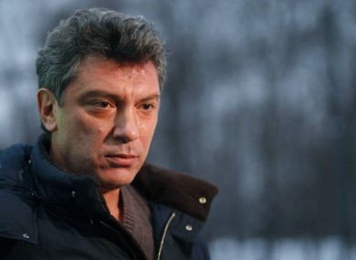 File photo of Boris Nemtsov