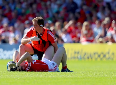 Lehane aggravated an existing problem in the win over Waterford nine days ago.