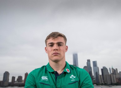 Garry Ringrose in New Jersey today.