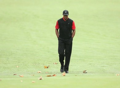 Tiger Woods has reached out for professional help.