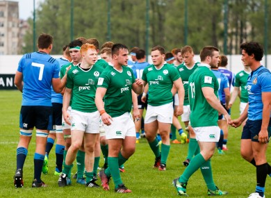 Ireland were left devastated at the final whistle.
