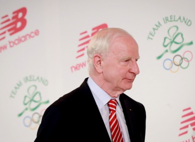Former OCI president Pat Hickey has returned to Ireland on bail.