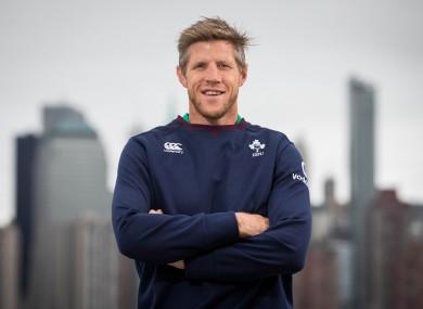 Forwards coach Simon Easterby.