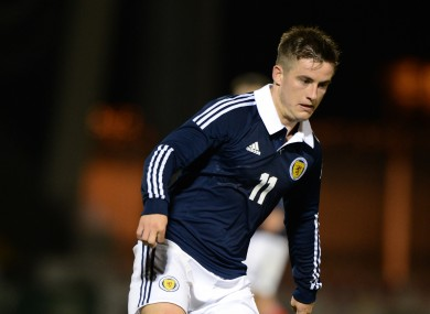 McCabe represented Scotland at U21 level.