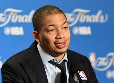 Tyronn Lue has changed his mind on the Warriors.