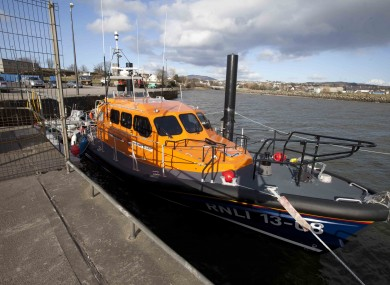 The Irish Coast Guard and the RNLI were both involved in the search operation.