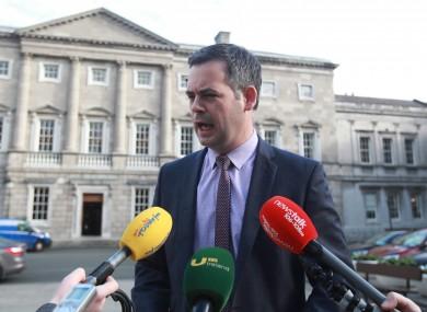 Sinn Féin spokesperson Pearse Doherty