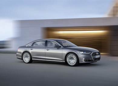 The New Audi A Hightech Saloon Can Drive Itself Up To A Certain - Audi car that drives itself