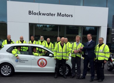 Emergency blood transport service gets a boost from cork for South motors vw service