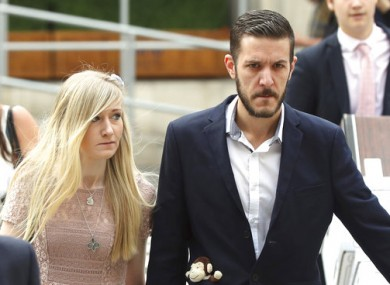Charlie Gard's parents Connie Yates and Chris Gard arriving at court today.