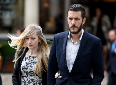 Charlie Gard's parents Connie Yates and Chris Gard.