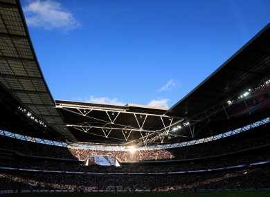Tottenham will play their games at Wembley Stadium in the coming season.
